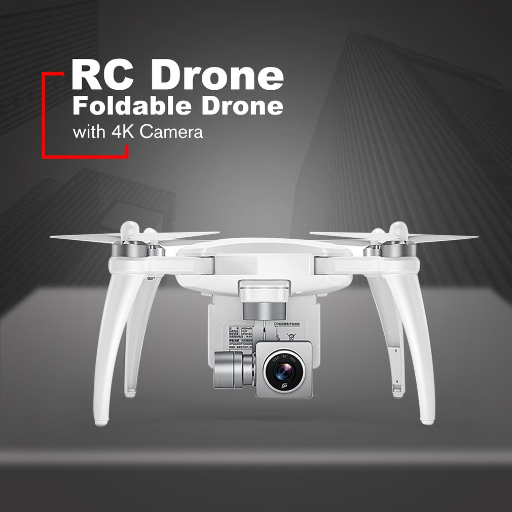 GPS Foldable RC Drone With 4K HD Camera 5.8 GHz FPV 32 Minutes Endurance RC Aircraft 720 degree VR panoramic