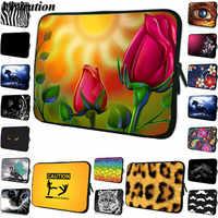 Women Girls 12 Inch Tablet Bag 11.6 10.2 9.7 10 7 Universal Prints Briefcase Laptop Case 14 15 13 13.3 15.6 17 17.3 Prints Cover