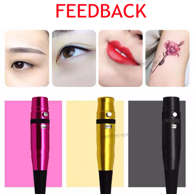 Hot Sell Dermograph Universal Swiss Motor Permanent Makeup Eyebrow Eyeliner Lip Pen Beauty Tattoo Machine With Universal Needles 5
