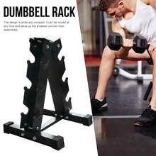 Storage Rack For Fitness Weights Bar A-Frame Dumbbell Weight Rack Fitness Accessories(China)