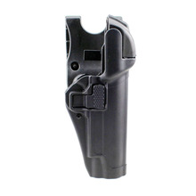 Tactical Holster Military Gun Holsters Hunting Concealment Level 3 Lock Right Hand Waist Belt Pistol Gun Holder for Colt 1911 цена