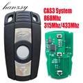 3 кнопки дистанционного ключа для BMW E89 E92 E93 E88 E91 E90 E82 X5 Z4 1 3 5 7 серии Smart Key CAS3 Система 315 МГц/433 МГц/868 МГц