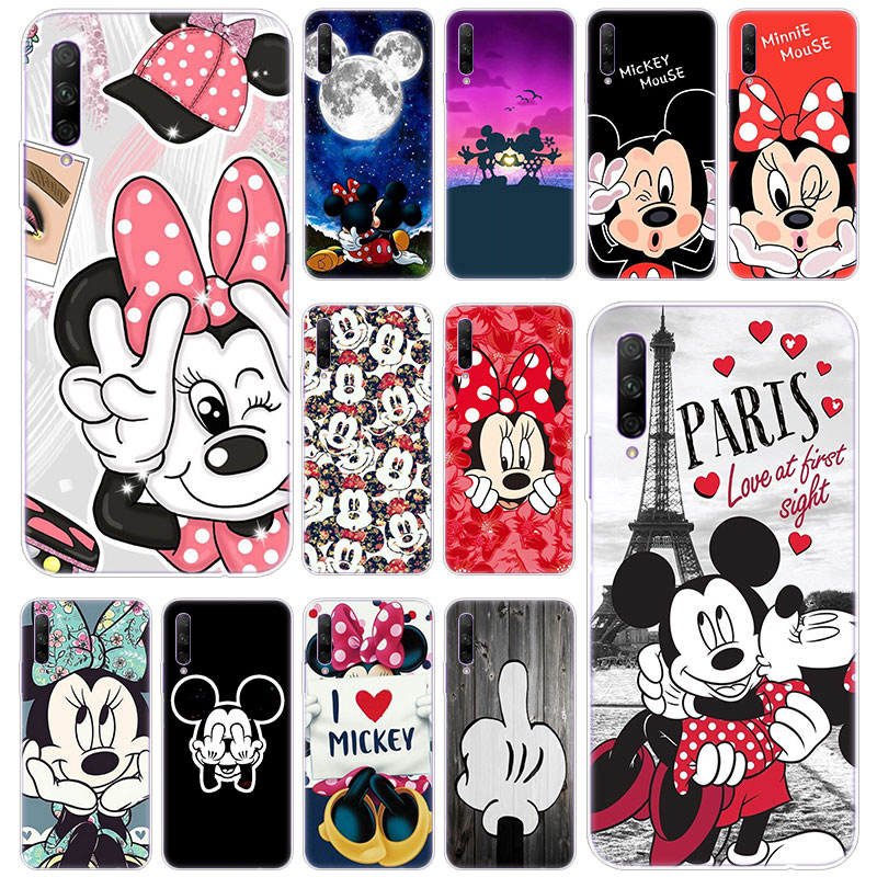 Hot Cute Cartoon Mickey Minnie Silicone <font><b>Case</b></font> for Huawei <font><b>Honor</b></font> 20 <font><b>20i</b></font> 10i 10 9 8 Lite 9X 8X 8A 8S 7S 7A Pro View 20 Play3 Cover image