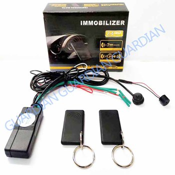 2.4G RFID Immobilizer Wireless Engine Lock Car Alarm System Anti-Hijacking Intelligent Circuit Cut Off Auto Unlock Device