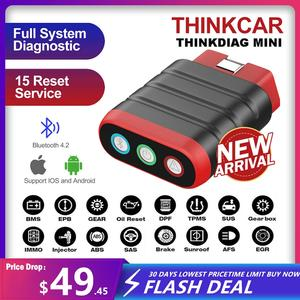 Automotive Scanner Diagnostic-Tool Service Easydiag Bluetooth Professional Thinkcar Thinkdiag