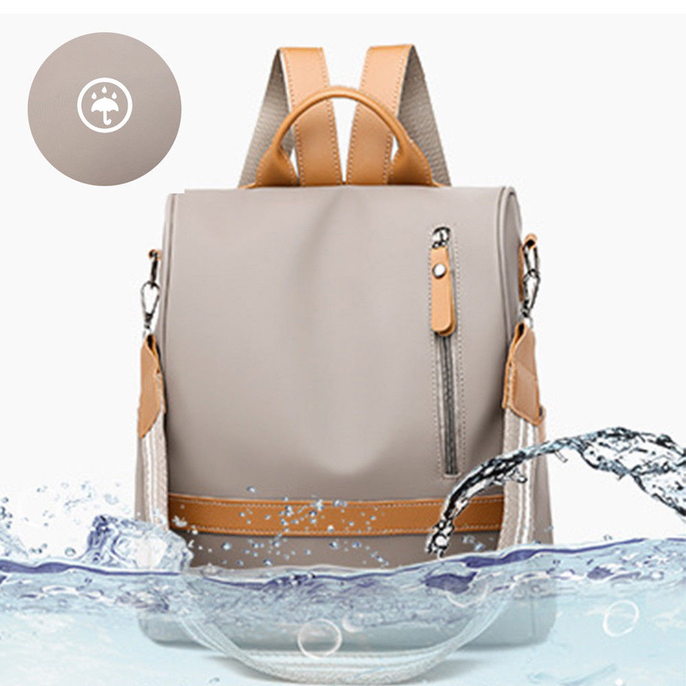H45de8eee766d4e27ab1f22ccd7900df0m - Fashion Women Waterproof Travel Backpack Anti-theft Oxford Backpack Female School Bags Bagpack For Girls Shoulder Bag