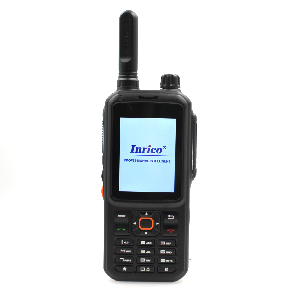 Transceiver Network-Intercom Walkie-Talkie Mobile-Phone-Work POC Inrico T320 WCDMA LTE