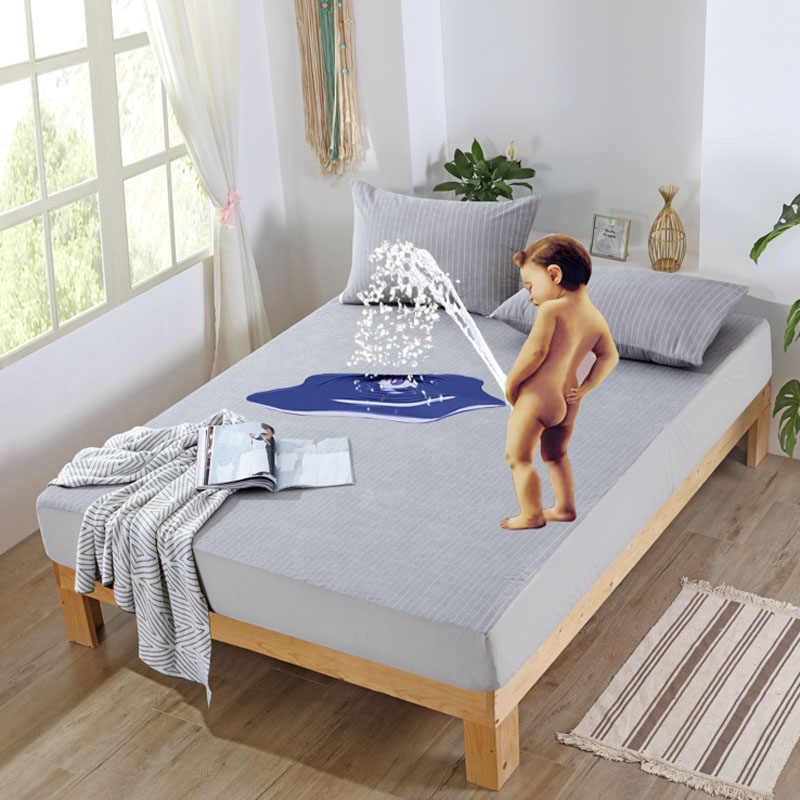 Baumwolle terry Wasserdichte Matratze Abdeckung/Matratze Schutz Abdeckung Für Bettnässen Und Bett Bug Atmungs Bett Blatt mit