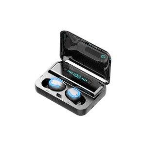 Image 5 - F9 5 Bluetooth 5.0 אוזניות TWS טביעת אצבע מגע אוזניות HiFI באוזן סטריאו אוזניות אלחוטי אוזניות עבור ספורט & משחקים