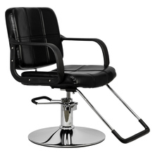 HC125  Beauty Salon Chair Salon Chair Barber Woman Barber Chair Hairdressing Chair Black US warehouse in Stock