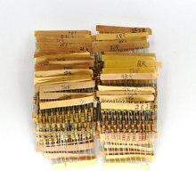 Carbon-Film Resistors Values 5%Tolerance 500pcs/Lot Ohm-1m-Ohm Assortment-Kit Each Power-0.5w