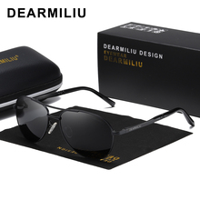 DEARMILIU Men's Sunglasses Brand Designer Pilot Polarized Male Sun Glasses Eyeglasses gafas oculos de sol masculino For Men 1306 цена