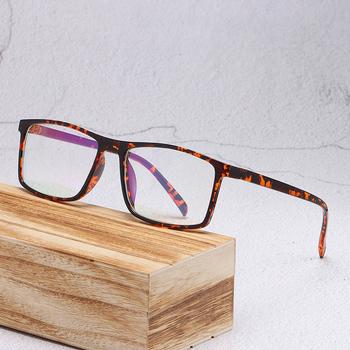 Vintage Square męskie oprawki do okularów korekcyjne damskie okulary ramki okulary dla osób z krótkowzrocznością ramki do okularów ramki dla mężczyzn tanie i dobre opinie higodoy Unisex Z tworzywa sztucznego CN (pochodzenie) Stałe 2429 FRAMES Okulary akcesoria