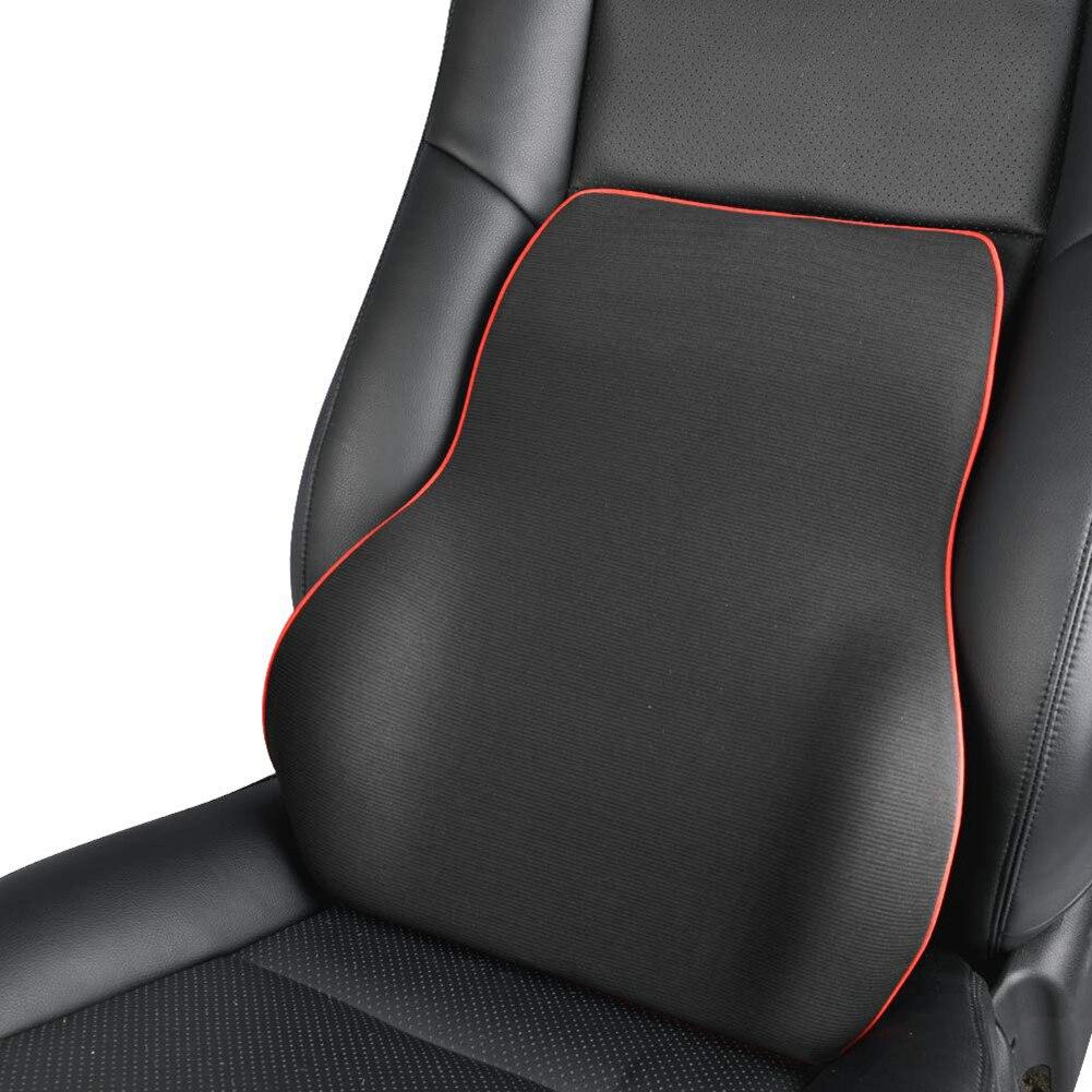 Lumbar Support Back Massager Waist Cushion Pillow For Car