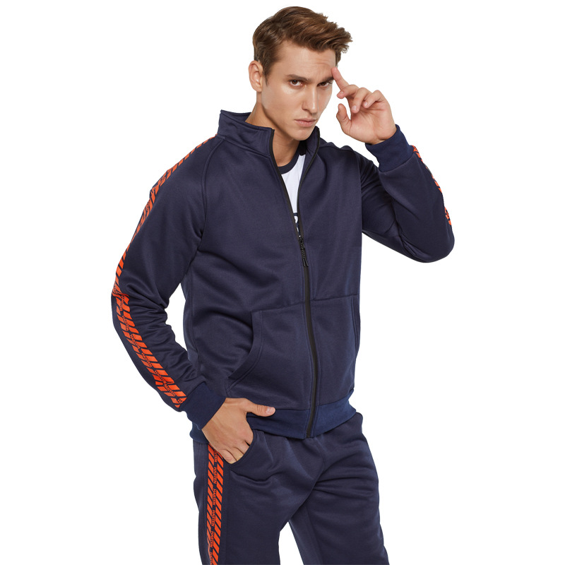 Sport Costume For Men 2019 New Autumn Winter Two-piece Tracksuit Jogging Suits For Male Sport Set Sweat Pants Jogging Set
