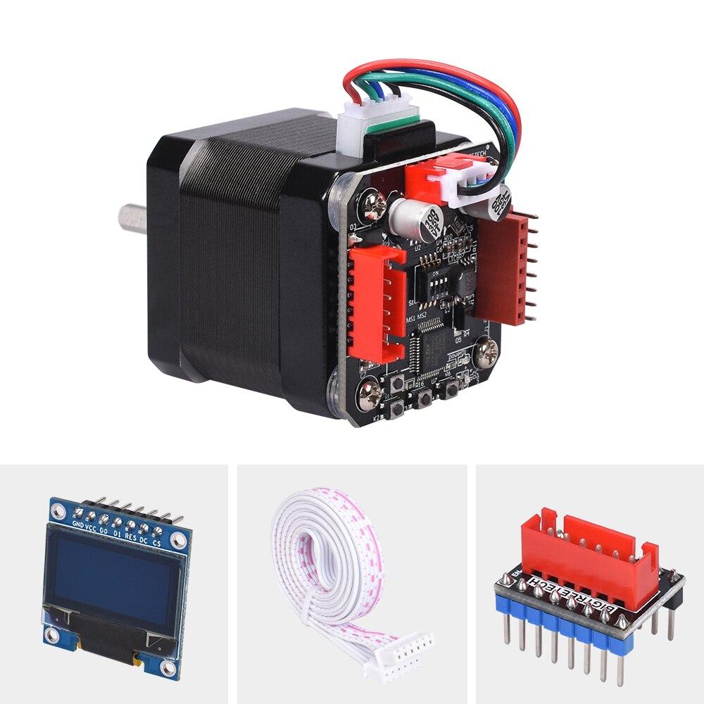 lowest price BIGTREETECH S42B V1 1 Closed Loop Driver Control Board 42 Stepper Motor OLED 3D Printer Parts For Ender 3 SKR V1 3 1 4 VS S42A