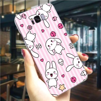 Encantadora Bambi y thumper caso de teléfono para Samsung S10e cubierta Nota 8 9 10 M10 M20 M30 S6 S7 borde S8 S9 S10 más casos de vuelta