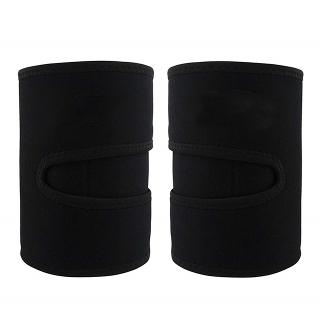 1 Pair Fitness Sports Compress Belt Sweat Absorb Training Leg Shaper Slimming Running Protective Slender Sauna Neoprene 4