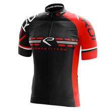 EKOI Summer Pro Team aero cycling Jersey short sleeve road mtb cycling shirt stripe fabric at sleeve and back Silicone Non-slip цена 2017
