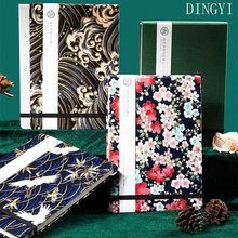 DINGYI Handmade 50% Cotton Hot-stamping Watercolor Sketchbook Paper 32sheets Travel Artist Water Color Painting Paper Gift