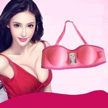 Women Breast Massager Device Breast Enlargement Health Care Beauty Enhancer Chest Grow Bigger Magic Vibrating Massage Bra недорого