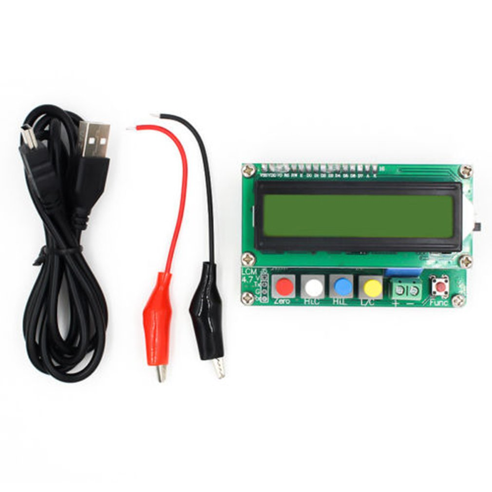 NEW LC100-A Digital LCD High Precision Inductance Capacitance L/C Meter Capacitor Tester 10%off