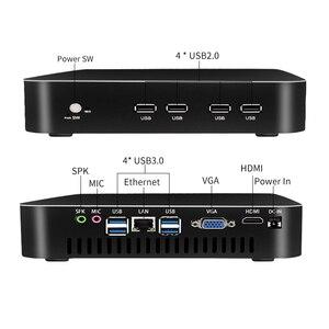 Image 4 - MSECORE core i7 8700 NVME SSD DDR4 Gaming Mini PC Windows 10 Desktop Computer game pc linux intel barebone HTPC HDMI VGA WiFi