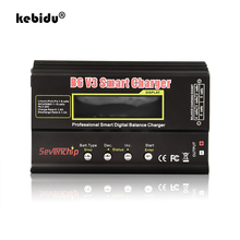 Kebidu 80W חכם דיגיטלי מאזן מטען פורק B6 V3 עבור RC מסוק Lipo NiMH Ni CD ליטיום NiCd ליתיום סוללה מטען