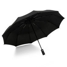 Parasol Business-Umbrella Folding Large Portable Automatic Women Windproof 3 Compact