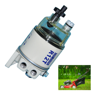 Image 5 - R12T 簡単インストールスピンエンジン自動交換油水分離クリーニング燃料フィルタープロフェッショナル芝刈り機ユニバーサル
