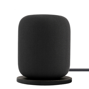 Anti-slip Leather Base Pad for Apple Homepod Bluetooth Speaker Waterproof Leather Pad Portable Speaker Pad фото
