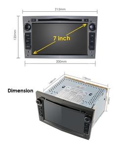 Image 5 - 4グラムandroid 10 1024X600 7インチ2din車のgps dvdプレーヤーのためのオペルアストラhグラムザフィーラbベクトラc dアンタラコンボラジオオーディオdsp rds swc