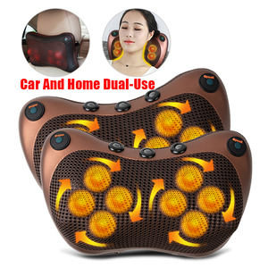 Relaxation Massage Pillow Infrared Electric Shoulder Back Body Heating Kneading Infrared therapy pillow shiatsu Neck Massager