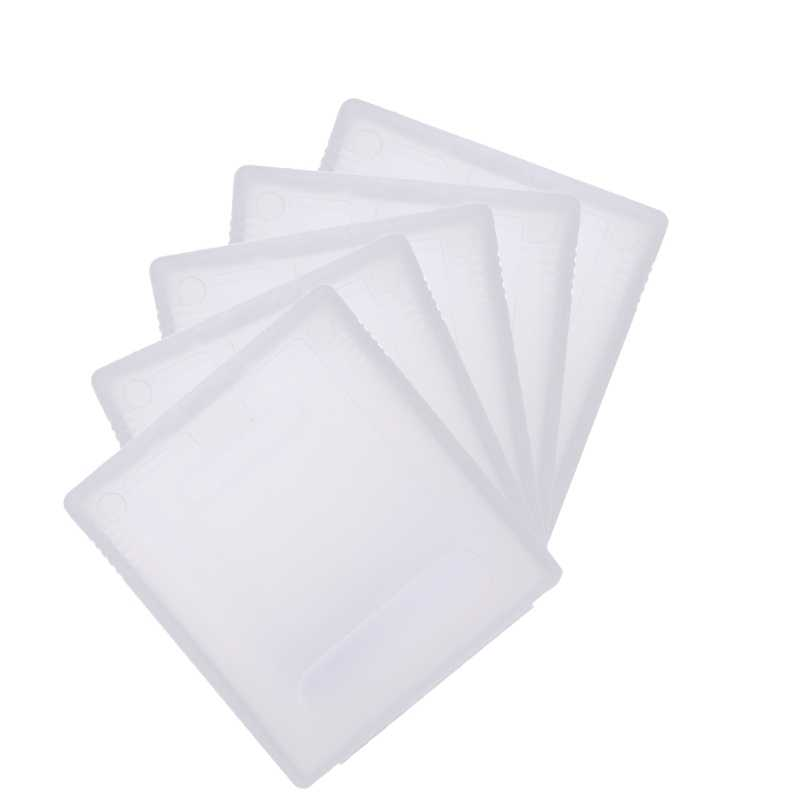 5x Clear Plastic Game Cartridge Case Stofkap Voor Nintendo Game Boy Color Gbc