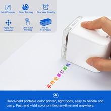 Inkjet-Printer Tattoo-Logo Mobile-Color Mini Portable WIFI Android A4 USB 1200dpi