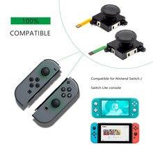 NS 3D Analog Joystick Thumb Sticks reemplazos para Nintendo Switch Joy Con Controller, reemplazo izquierdo y derecho analógico