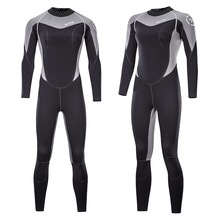Diving suit mens rubber thick warm swimming wetsuit deep floating surf