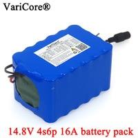 VariCore 14 8 V 12Ah 4s6p 18650 li-iom akku nacht angeln Lampe heizung miner der verstärker batterien mit BMS