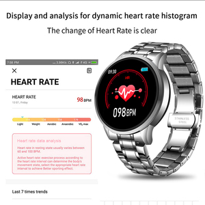Image 3 - LIGE New Fashion Smart Watch Men LED Multifunctional Sports Smart Watch For Android ios Waterproof Fitness Tracker smartwatch