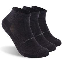 3 Pairs Athletic Running Socks, ZEALWOOD Unisex Merino Wool Anti-blist