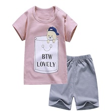 Shorts Suit T-Shirt Infant Clothes Dinosaur Cheap Stuff Boy Girl Kids Summer Baby Children