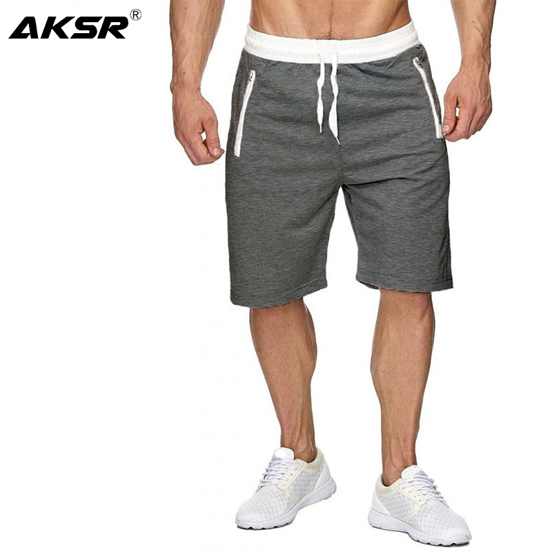 2020 Summer New Men's Shorts Beach Pants Casual Large Size Cotton Solid Color Shorts Five Points Sports Shorts Size M-XXL