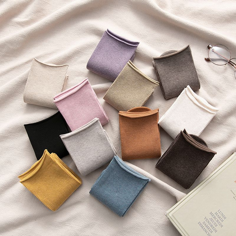 Long Socks women Color Women Fashion Socks Cotton Wild Deodorant Comfort Brief New Elastic Breathable Motion Socks Women