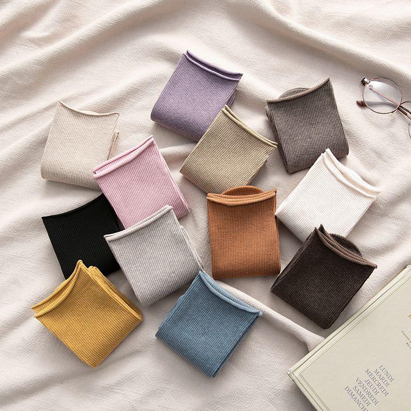 Long Socks women Color Women Fashion Socks Cotton Wild Deodorant Comfort Brief New Elastic Breathable Motion Socks Women