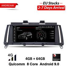 "ANDREAM Android 8.1 PX6 6 Core8.8 ""IPS Bildschirm Auto GPS Navigation Multimedia Player Für BMW X3 F25 (2010- 2016) x4 F26 (2014-2016)(China)"
