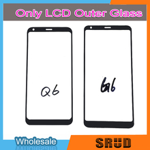 Outer Glass For LG G6 G6+ G6 Plus Q6 H870 H871 H872 H873 H870K LCD Touch Screen Outer Cover Front Glass Repair Parts replacement lcd lvds video screen cable adapter for hp pavilion g6 2000 g6 2238dx g6 2001tx led screen flex cable dd0r36lc000