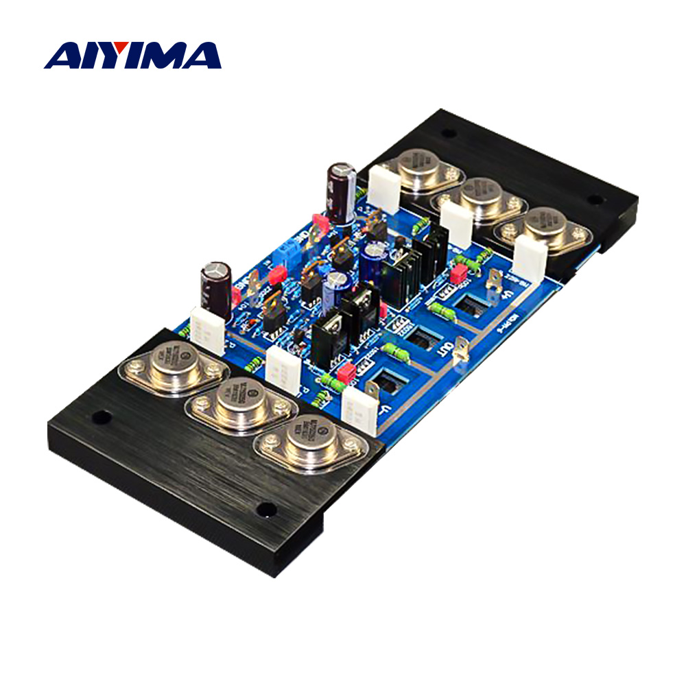 AIYIMA KSA100 Amplifier Professional Audio Board 300W DIY Sound Power Amplifier HiFi Amp Adjustable Class A For Home Theater