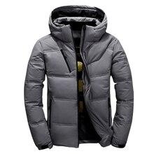 WENYUJH Горячий Мода Мужская Одежда Утолщенная Homme Толстая Теплая Пальто Парки С капюшоном Зима Ветрозащитный Мужской Куртка Для Мужчин Одежда Парки