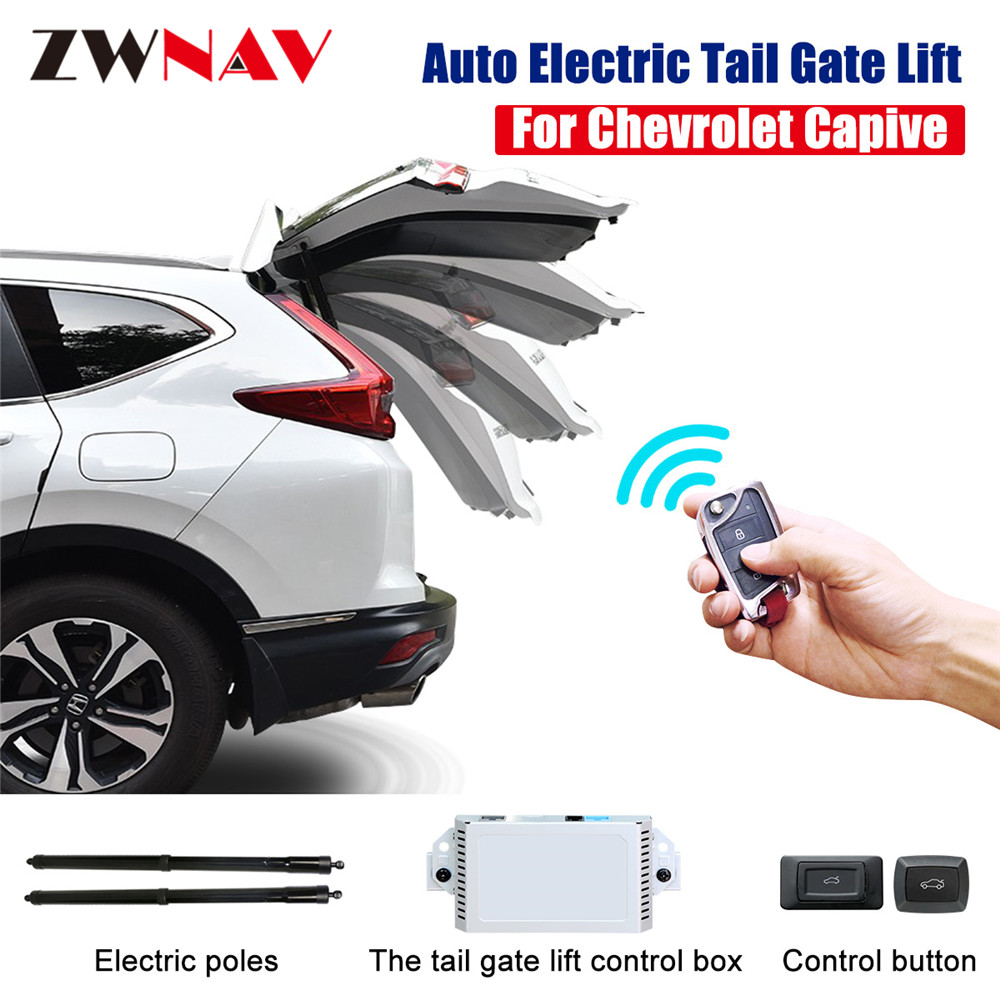 Easy to install Smart Auto Electric Tail Gate Lift for Chevrolet Captiva 2016 with Remote Control Drive Seat Button Control Set