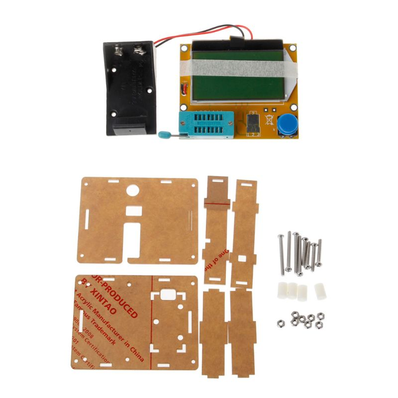 LCR-T4 ESR Meter Mega32 Graphical Transistor Resistor Capacitor Mosfet Tester